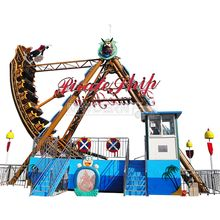 outdoor playground manufacturer pirate ship for 24 riders
