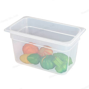Wholesale kitchen accessories high quality buffet food pan full sizes plastic gn pan plastic gastronorm container