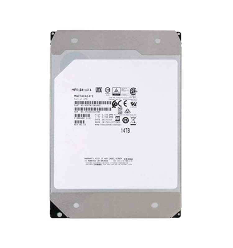 MG Series Enterprise MG07ACA14TE 14TB 3.5 ''SATA 6G HDD 7200RPM