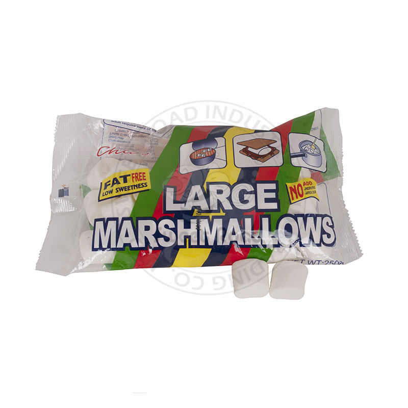 250g Fat Free Low Sweetness Large Marshmallow in Bag