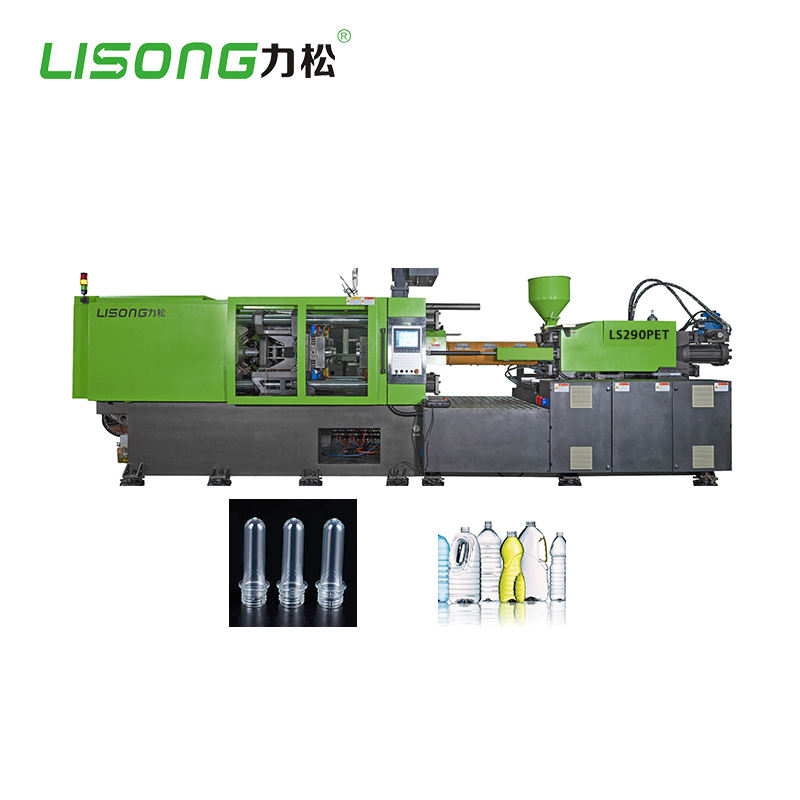 High-efficiency Upgrade Dual-cylinder Design Vertical PET Injection Moulding Machine
