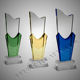 New custom high quality and cheap price colored crystal award trophy -CCA052