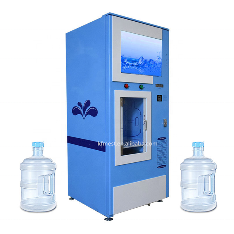 Factory Supplies IC card/Coin/Bill Operated Water Vending Machines For Sale Purified Water Vending Machine