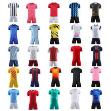 New Custom Soccer Wear Sublimated Wholesale Mens Football Jersey Kit