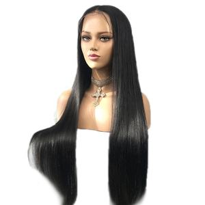 Luxury Long Hair Wigs Straight Lace Wigs100% Virgin Human Hair 13*6 Lace Front Wigs for black women