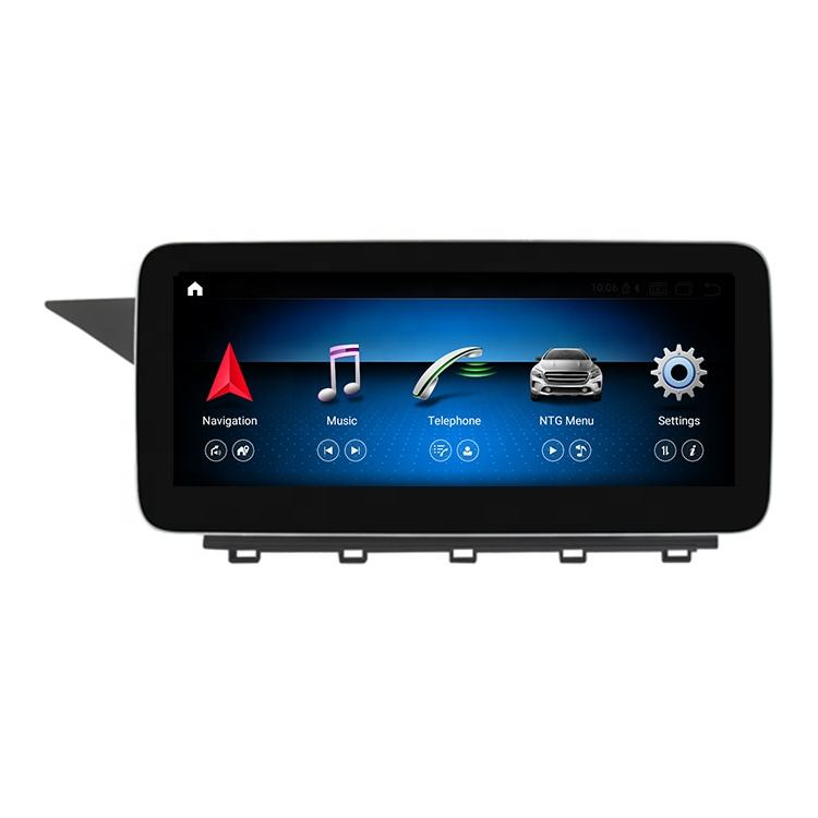 "SPATE Wholesale 10.25"" Android 10.0 GPS Navigation DVD With Touch Screen For Mercedes GLK 350 X204 2008 2009 2010 2011 2012"