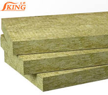ISOKING 60kg/m3 80kg/m3 100kg/m3 120kg/m3 insulation fireproof rock wool panel