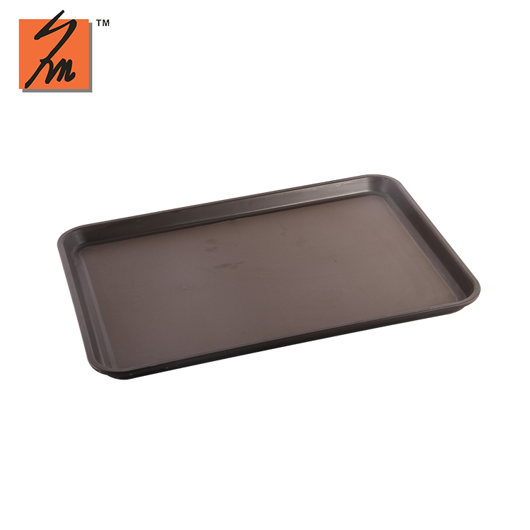 Skidproof plastic serving tray for hotel