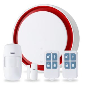 Smart Home Security Wifi+GSM Support Download Android/IOS APP & Wireless Burglar Alarm System Kit