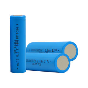 rechargeable 18650 3.6v battery 3C bateria for car high capacity