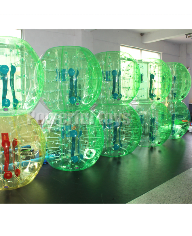 Factory price inflatable bumper ball body bubble ball game
