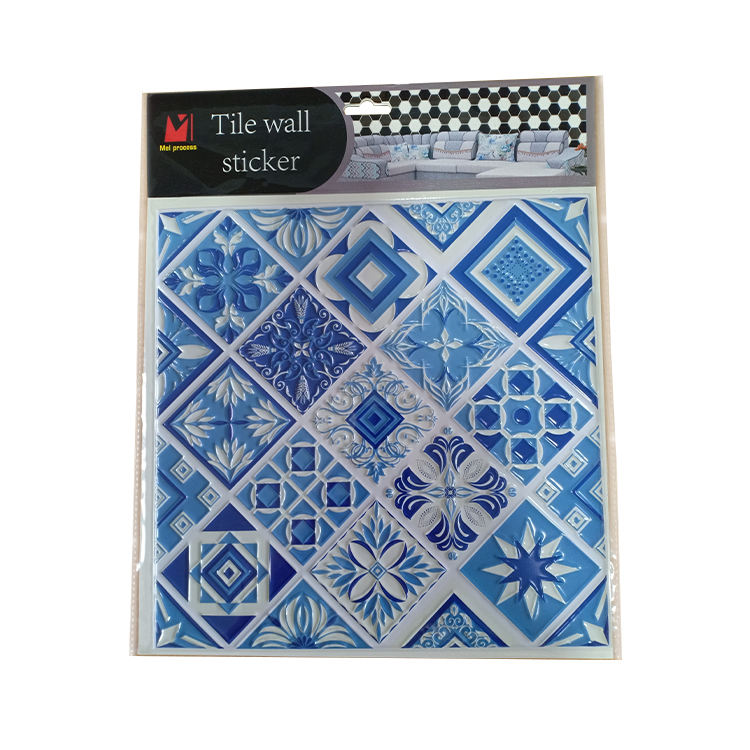 Bathroom Mosaic Tiles Self Adhesive Deco Wall Stickers for Kitchen Tiles Peel and Stick Decor