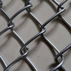 wholesale hot dip galvanized or PVC coated chain link fence per sqm weight
