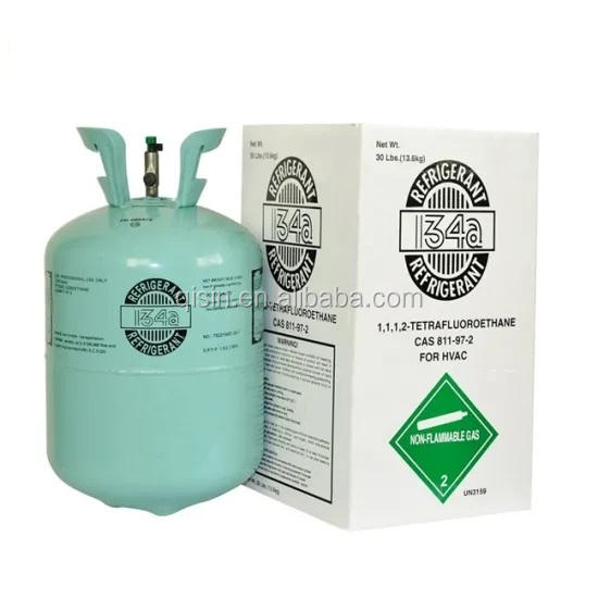 High Purity HFC Refrigerant R134a 13.6kg 30LBS Hot Sale