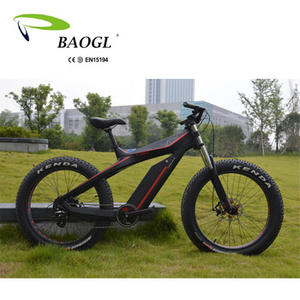 KONTAX/ Fat Electric Bike Carbon Fiber, Electric Mountain Bike, Vtt Electric Bike