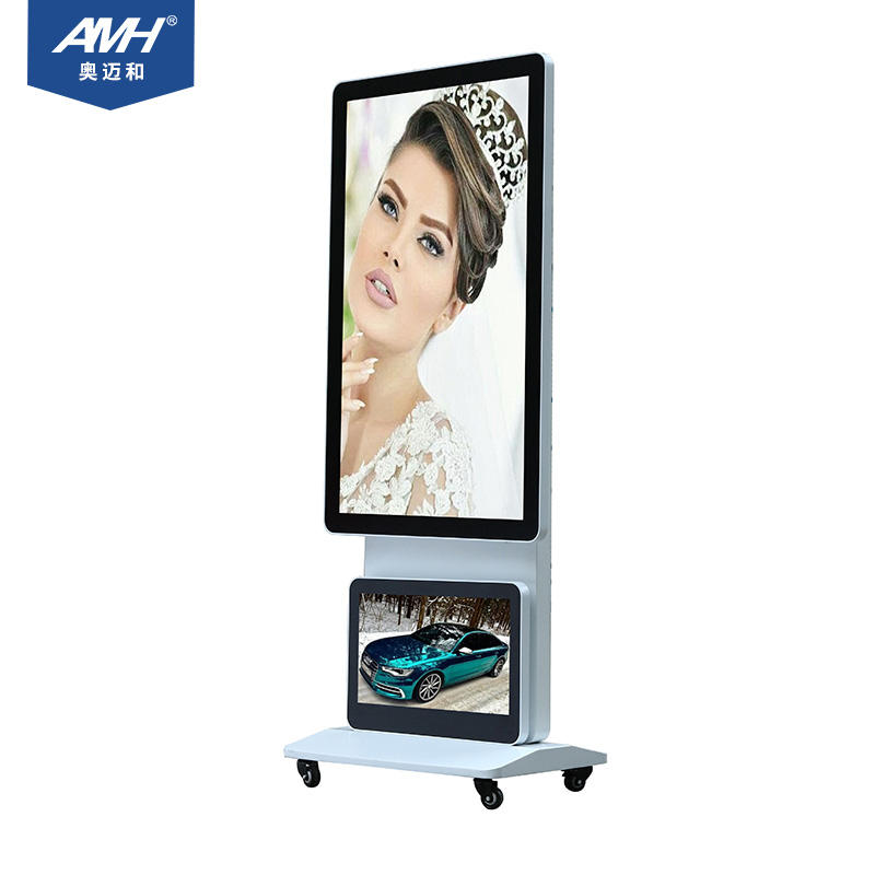Hot Menjual Sistem Windows Monitor Digital Signage 4G 55