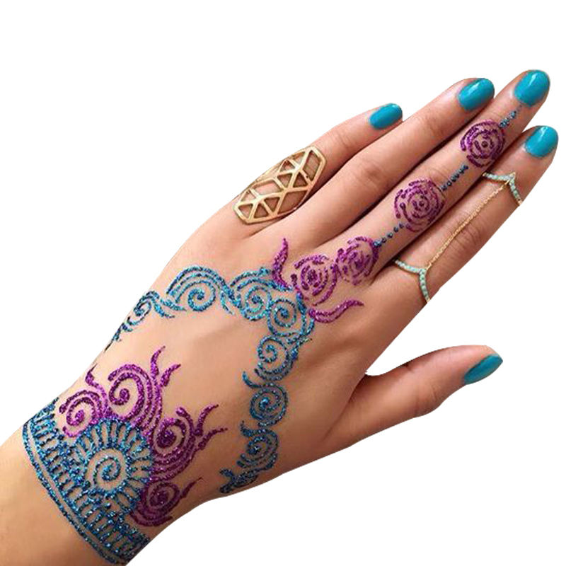 New arrival hot selling tattoo stencil body painting body art henna tattoo stencil