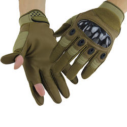 New Motorcycle gloves outdoor sports cycling tactics wear-resistant full finger protective gloves for men