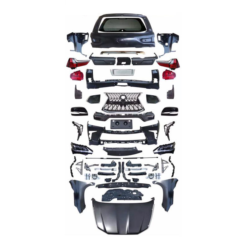 Modifications Car Outer Parts Body <span class=keywords><strong>Kit</strong></span> für Lexus Lx570 For Lexus 2008-2015 Upgrade To 2019-2020 jahre