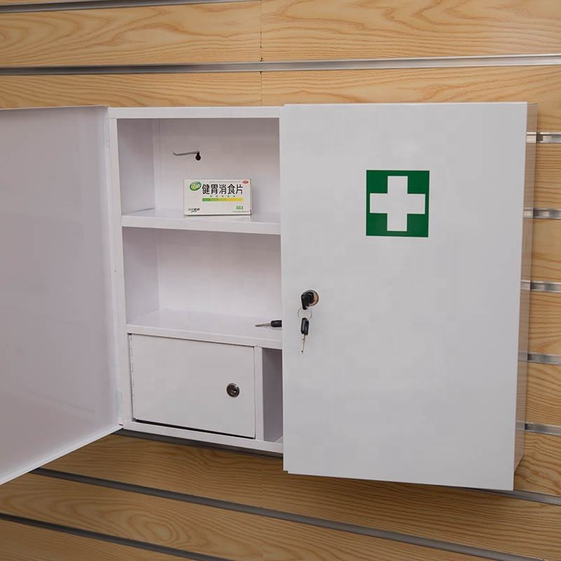 Metal Box Wall Mounted First Aid Kit