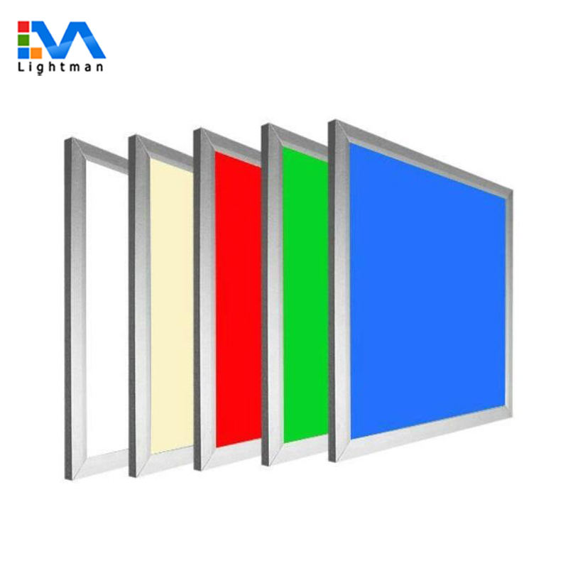 60X60 62X62 2X2 12 V Multicolor LED Panel RGB Akses Internet Nirkabel zigBee RGB LED Panel LED Panel Lampu RGB