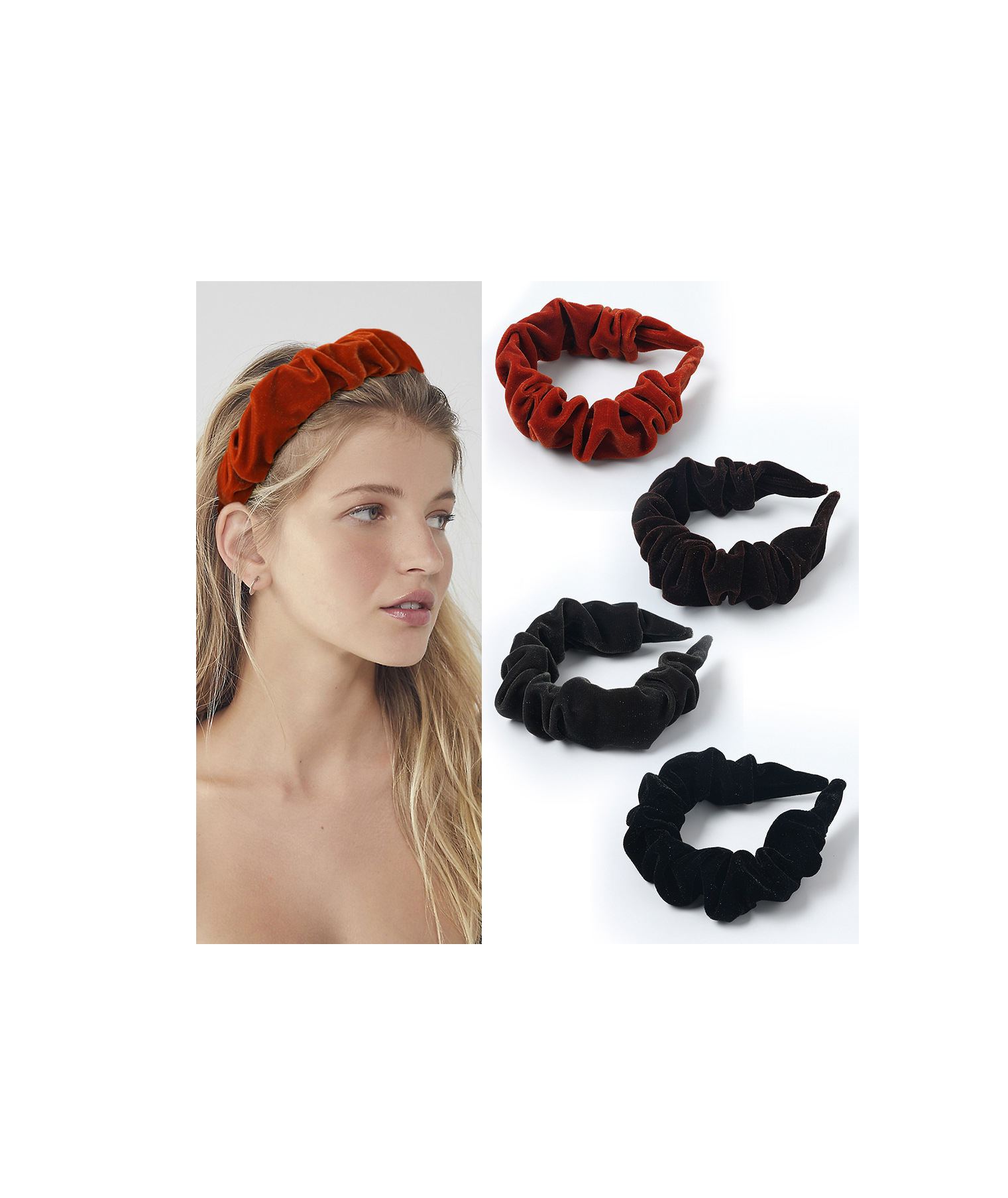 make up face wash hair accessories women hair cover custom spa moisture wicking headbands