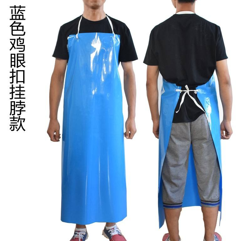 Heavy duty work apron food safe industrial waterproof TPU apron