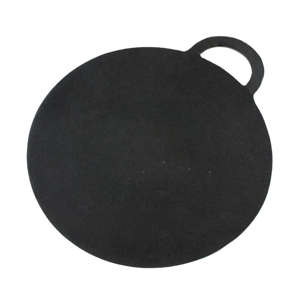 Commercial Perfect Flat Cast Iron Chapatti Tortilla Pan 12""