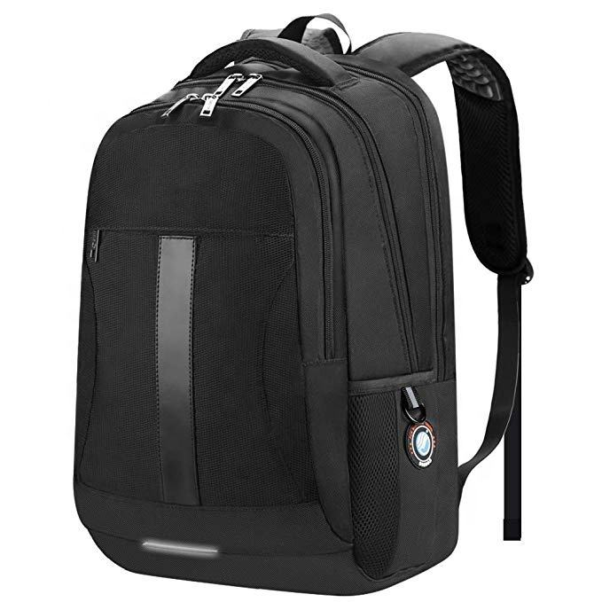 Anti-theft water resistant recycled 1200d polyester fabric backpack