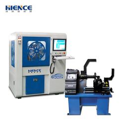 Automatic rim straightening machine alloy wheel repair machine with CE DCM32P