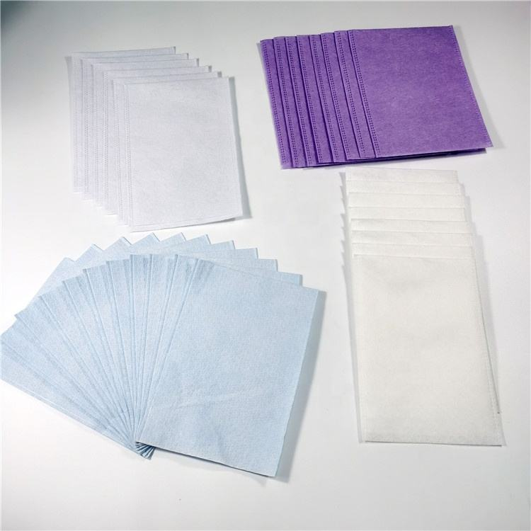 Disposable Nonwoven Wash Gloves For Patient Body Cleaning