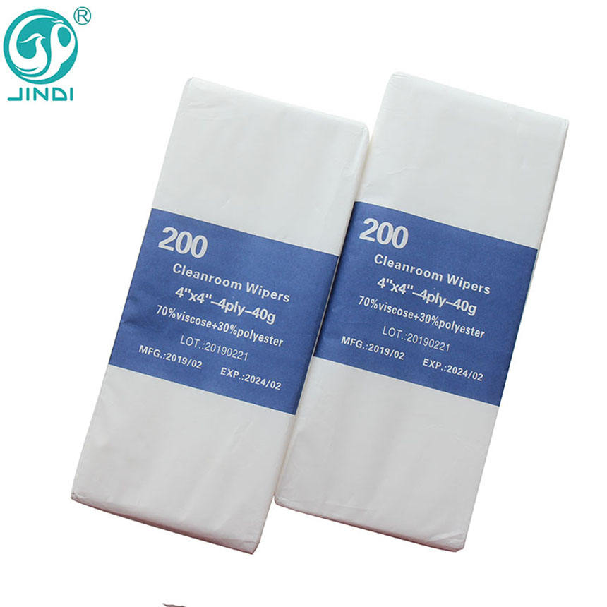 Absorbent Extra Soft Industrial Wipe Cloth Microfiber Non Woven Cleaning Cloth