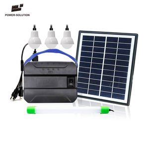 Mini Tragbare Home Solar Panel Power System Off Grid DC System Licht Kit Mit Telefon Lade