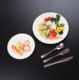 Disposable plastic plates wholesale plastic dinner plates dinnerware for wedding