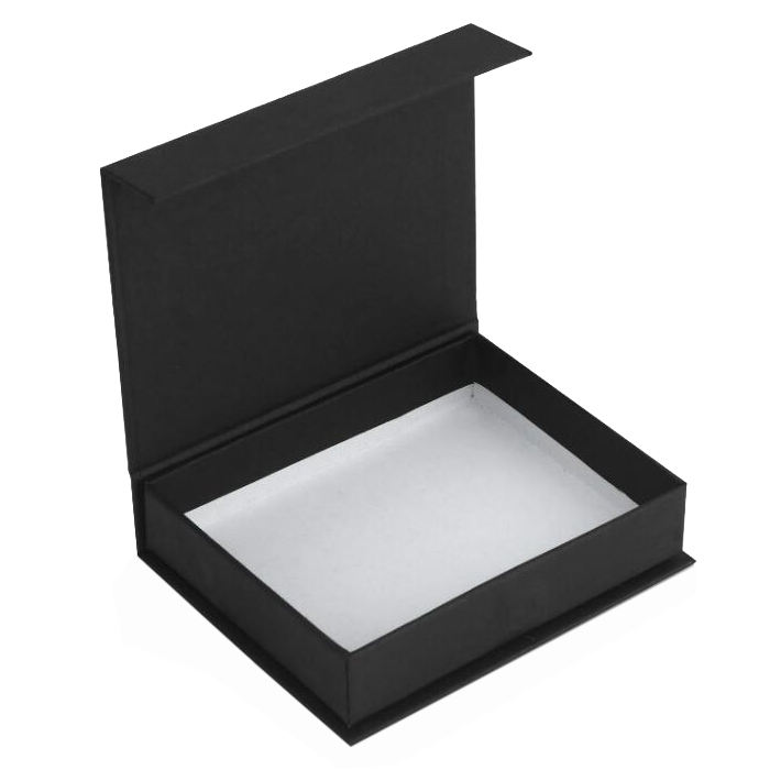 Wholesale Custom Logo Black Paper Premium Magnetic Luxury Cardboard Gift Wig Carton Packaging Box