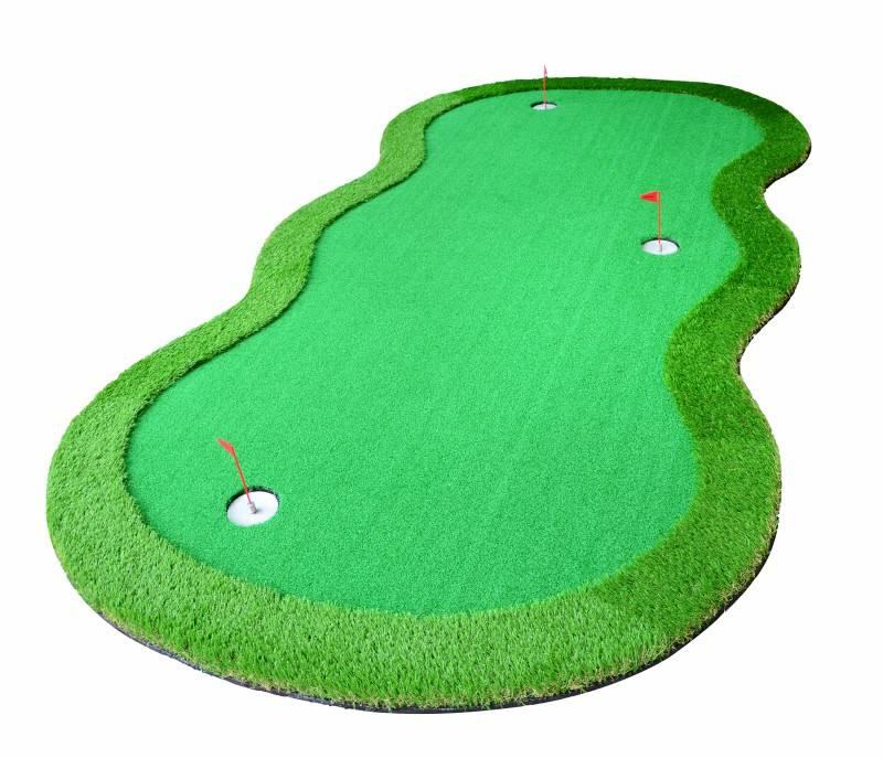 Mini di Sport di Golf Putting Green Turf Indoor Outdoor Artificiale Golf Erba