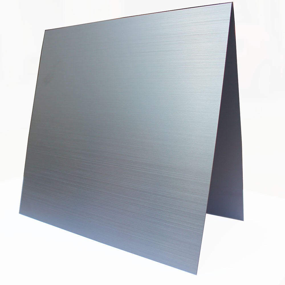 Brushed aluminum sheet Golden 0.5 0.3 0.4 0.8 1 2 3mm anodized sheets for wall cladding composite hairline finish panel