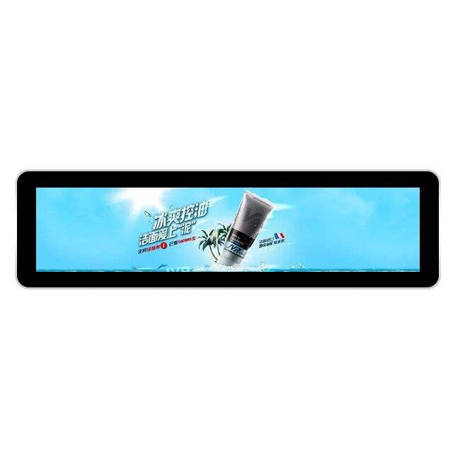 37 ''/32''/21''can <span class=keywords><strong>Bus</strong></span> Lcd Taxi Ultra Brede Bar Type Mount Full Color Digital Signage Android reclame Spelers Display