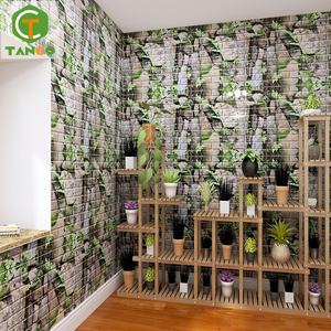 DIY contact paper waterproof papier peint panel pe foam 3d wall sticker mural wallpaper living room peel and stick backsplash