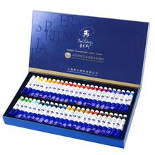 Paul Rubens Art Supplier 48C 8ml Professional Artist Watercolor Paint Set with Tube Packing