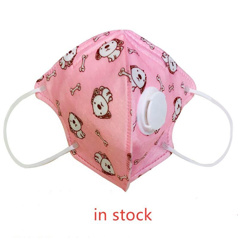 PM 2.5 KN95 N95 máscara boca filtro menino menina crianças criança crianças bebê cara respirador máscara com filtro