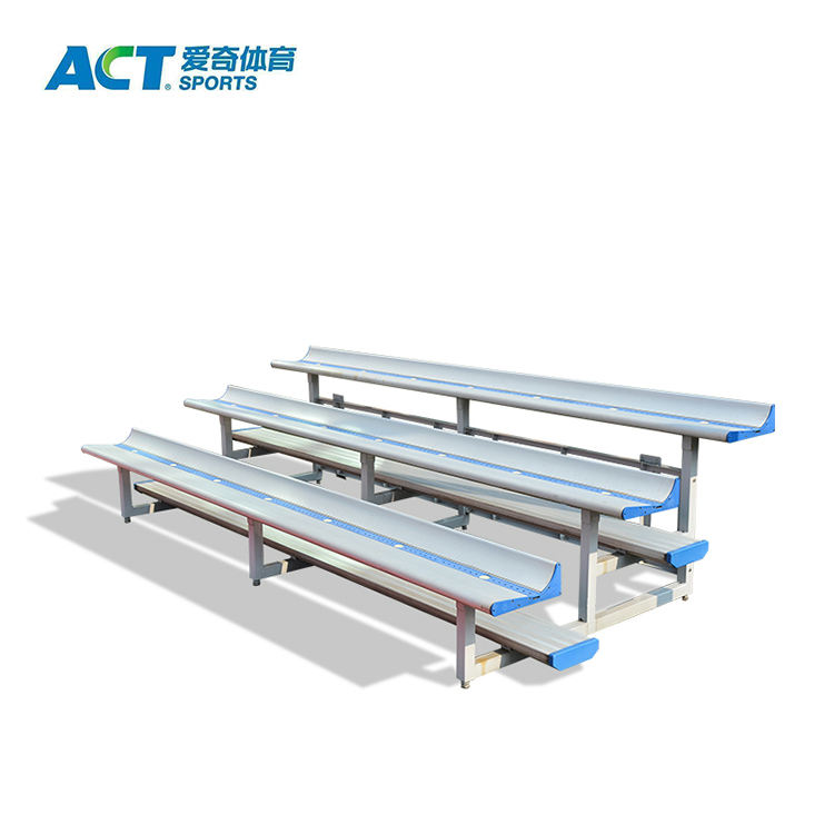 Indoor & outdoor gym and stadium portable aluminum bleacher