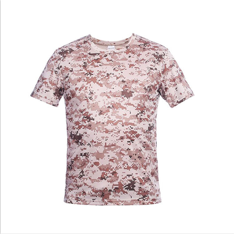 Outdoor Sport Digitale Militaire Camouflage T-shirt