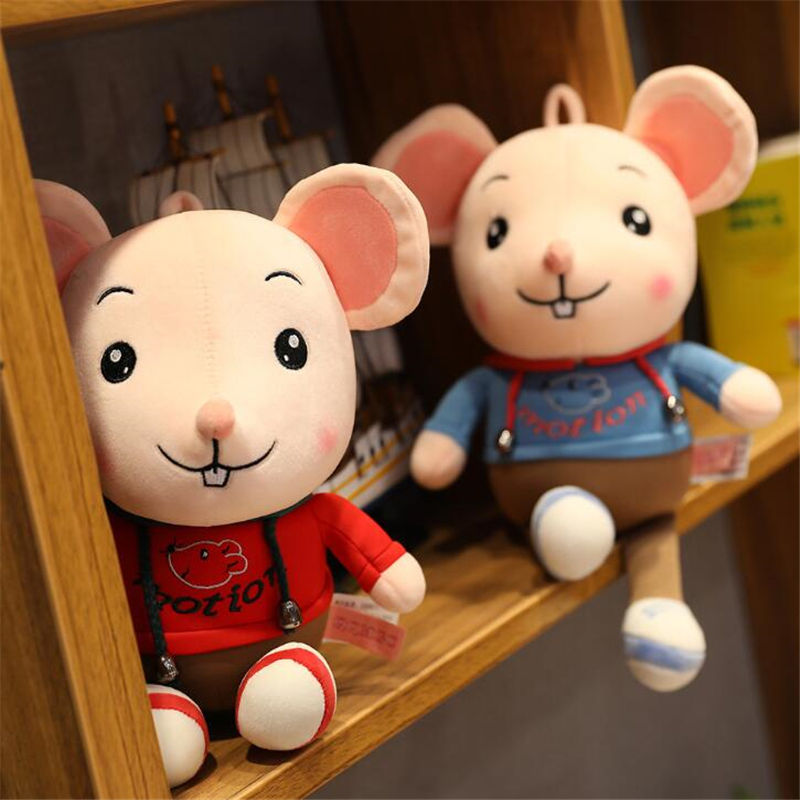 Sweater Mickey Cheese Happy Chinese New Year Custom Rat Special Soft Giant Minnie Stuffed Mouse Mini Plush Pet Mice Toys
