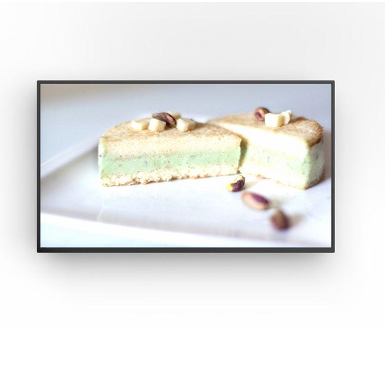 ماكن 43 بوصة HD 1080 <span class=keywords><strong>P</strong></span> الحائط الرقمية لافتات مع الروبوت نظام للمقهى مطعم المطبخ عرض نظام