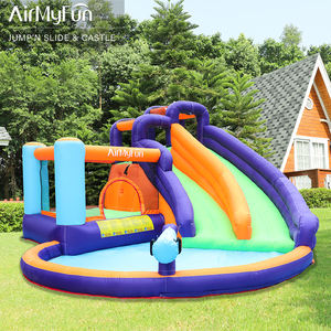 Airmyfunกลางแจ้งMoon Bounce Air Bouncer Trampolineน้ำGiant Inflatable Juego Inflable