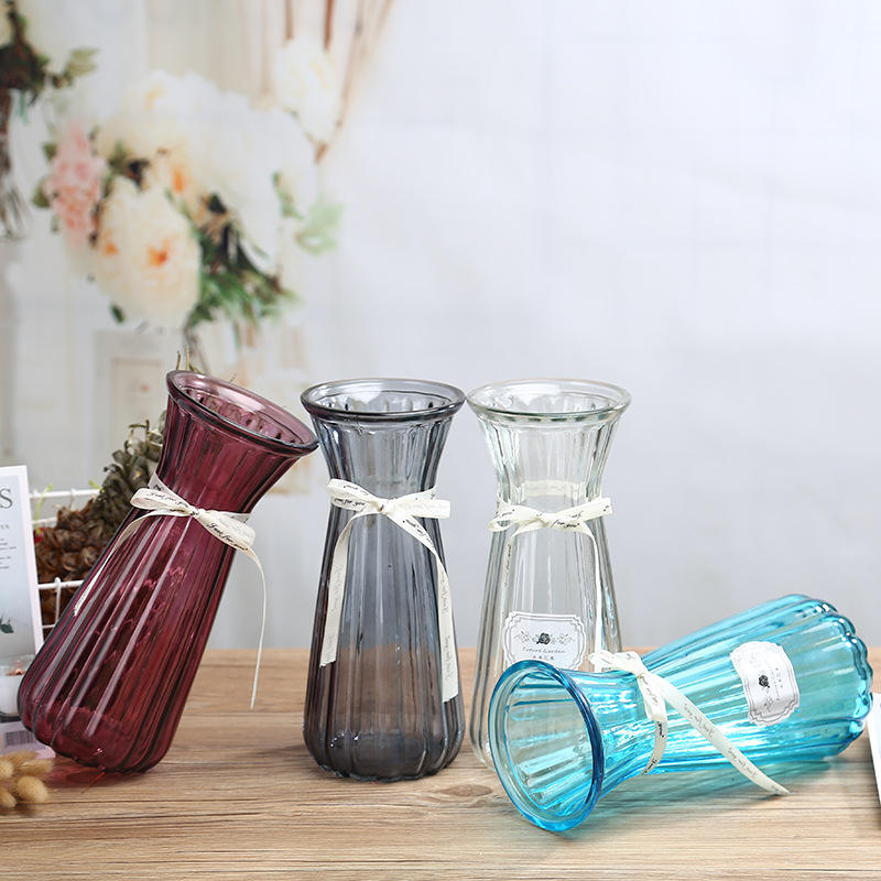 LF747 New Arrival Home Decor Hot Products Crystal Vase Glass Vase For Home Decor