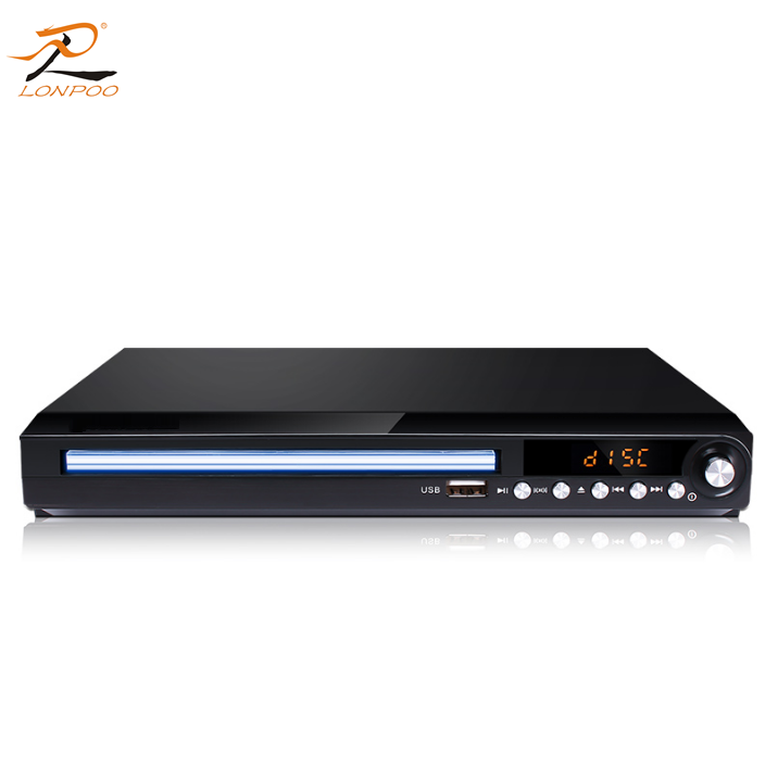 Shenzhen manufacturer made home 5.1 amplifier dvd player DVD&VCD player with lens price