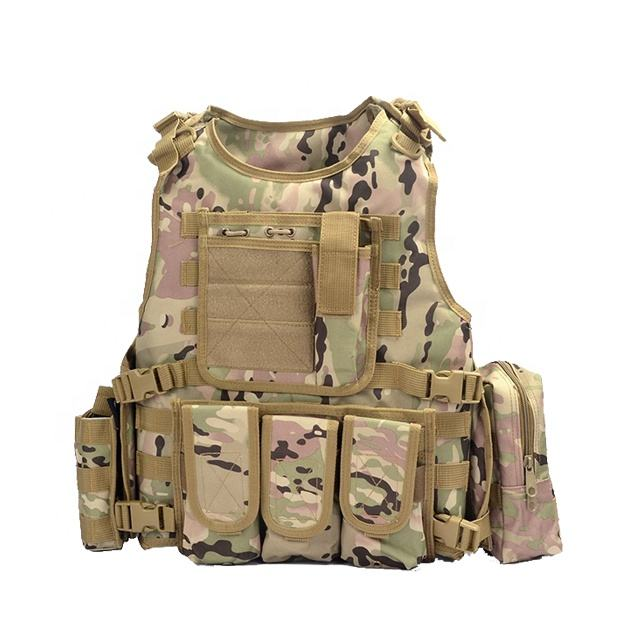 Yakeda anti bullet molle army military combat gear new style custom bulletproof tactical vest