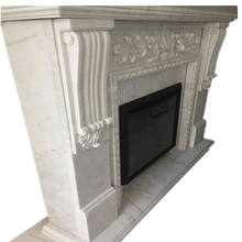 High Grade China Marble Fireplace